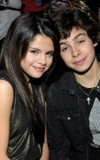 Selena Gomez at Jake T. Austin's birthday party, December 4, 2010