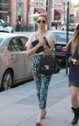 Whitney Port @ Salon in Beverly Hills, January 28, 2011