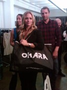 AJ Cook-Shop Share Love Event