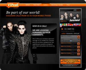 Blog de tokio-hotel2 : • Le Fan Club Officiel Fran�ais de Tokio Hotel •, Le groupe vous appelle
