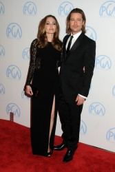 Анджелина Джоли, фото 7466. Angelina Jolie - Producers Guild awards, january 21, foto 7466