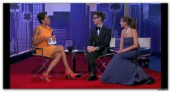 Robin Roberts---27.02.2012--lovely Outfitlegs--High Heelsabc--GMA