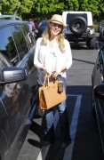 Джули Бенц, фото 1141. Julie Benz leaving Mauros Cafe in Melrose - March 3, 2012, foto 1141