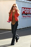 Линдси Лохан, фото 23084. Lindsay Lohan - out and about in Beverly Hills 03/08/12, foto 23084