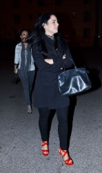 JoJo (Joanna Levesque) & Francia Raisa - Leaving Nightclub In Hollywood - April 23, 2012