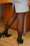 Вера Стивенс, фото 34. Faith Stevens - Grey Suit (OnlyTease), foto 34